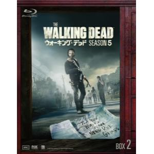 <BLU-R> ウォーキング・デッド シーズン5 Blu-ray-BOX 2