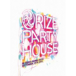 """<DVD> RIZE / LIVE DVD""""PARTY HOUSE""""in OSAKA"""