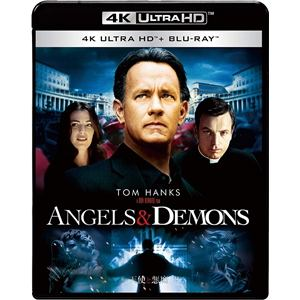 【4K ULTRA HD】天使と悪魔(4K ULTRA HD+ブルーレイ)