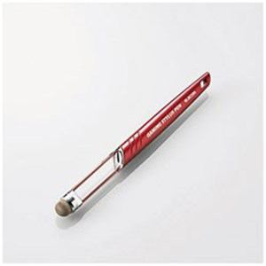 エレコム P-TPLG02RD ゲーミングタッチペン ロング レッド