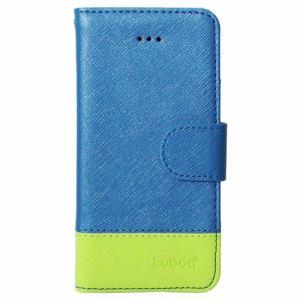 e5741da4d8 オウルテック OWL-CVIP5SE01-BLG iPhone SE対応 手帳型 スマホケース ブルー/グリーン