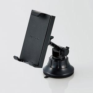 エレコム P-CARTB01BK  車載タブレット対応スタンド(ゲル吸盤)