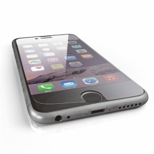 エレコム PMKA15FLGGJBL iPhone 6s/6用ガラスフィルム/BLカット