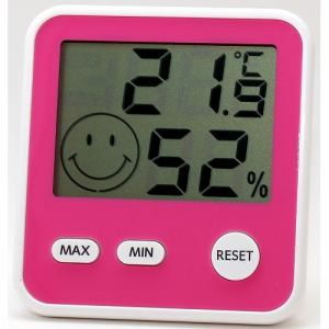 エンペックス TD-8415 おうちルームデジタルmidi温度・湿度計気象計