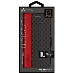 エアージェイ(air-J) iPhone7/6/6s専用GT MOBILE本革手帳型ケース AC-P7-GT2