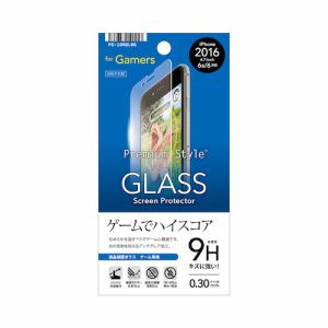 PGA PG-16MGL06 iPhone 7 液晶保護ガラス ゲーム用