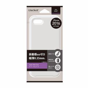 PGA PG-16MSL01CL iPhone 7 スリムケース iJacket  クリア