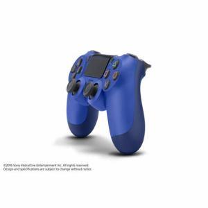 ソニー ワイヤレスコントローラーDUALSHOCK4 ウェイブ・ブルー CUH-ZCT2J12