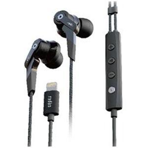 RADIUS  iPad / iPhone / iPod対応[Lightning]ステレオイヤホンマイク(1.2m・ブラック) Inner ear headphones HP-NHL21K