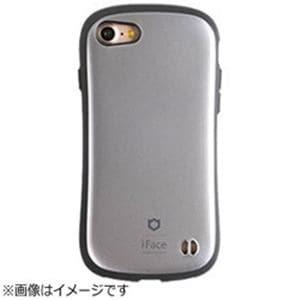 HAMEE iPhone 7用 iFace First Class Metallicケース シルバー