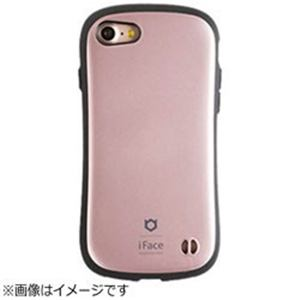HAMEE iPhone 7用 iFace First Class Metallicケース ローズゴールド