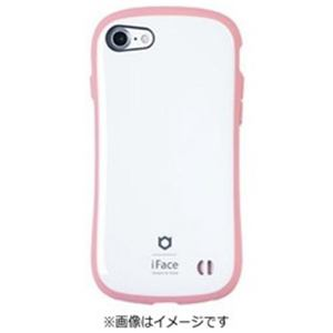 HAMEE iPhone 7用 iface First Class Pastelケース ホワイト/ピンク