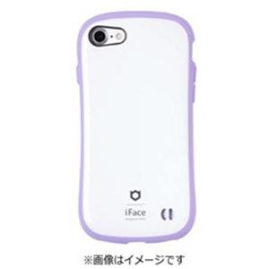 HAMEE iPhone 7用 iface First Class Pastelケース ホワイト/パープル