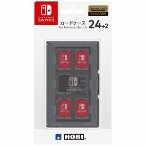 ホリ カードケース24+2 for Nintendo Switch ブラック  NSW-025