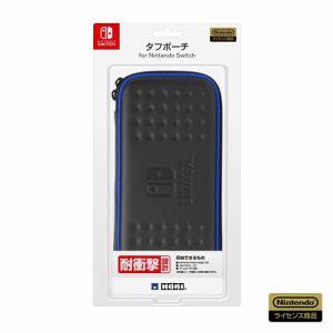 ホリ タフポーチ for Nintendo Switch ブラック×ブルー NSW-010