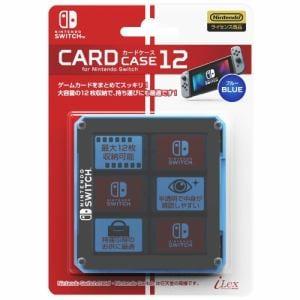 アイレックス  カードケース12 for ニンテンドーSWITCH(ブルー) ILXSW201
