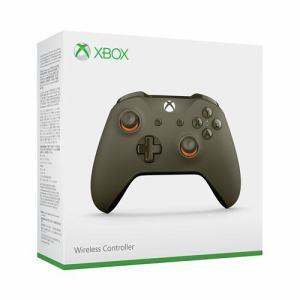 日本マイクロソフト Xbox ワイヤレス コントローラー (グリーン/オレンジ) WL3-00037