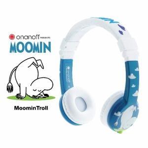 子供用 ヘッドホン onanoff オナノフ MOOMIN BuddyPhones Moomin ムーミン BP-MOOMIN-01K
