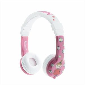 子供用 ヘッドホン onanoff オナノフ MOOMIN BuddyPhones Little My リトルミイ BP-LITTLEMY-01K