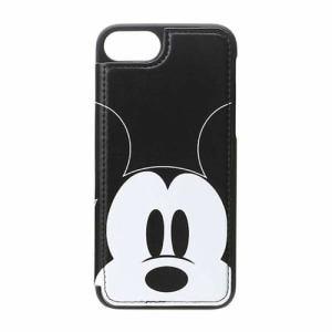 PGA PG-DCS230MKY iPhone 7/6s/6用 バックフリップケース / ミッキーマウス / フェイス