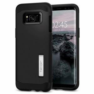 spigen sgp(シュピゲン エスピージー) 571CS21122 Galaxy S8+ Slim Armor ブラック