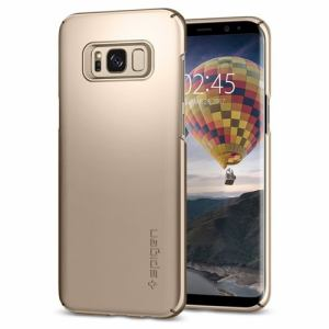 spigen sgp(シュピゲン エスピージー) 571CS21674 Galaxy S8+ Thin Fit メープルゴールド