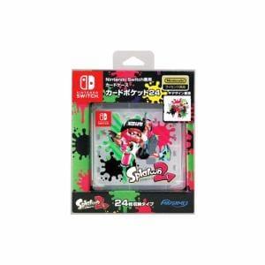 マックスゲームズ Nintendo Switch専用カードポケット24 スプラトゥーン2  HACF-02SP2