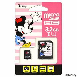 アイアップ EU-MSD32-MIN 【Nintendo Switch対応】 ディズニー microSDカード アダプターセット 32GB ミニー