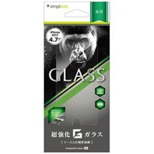 トリニティ TRIP174GLGOCC iPhone 8用 ゴリラガラス 光沢