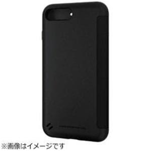 エレコム PM-A17LTSSWH iPhone 8 Plus TOUGH SLIM シェルフラップ ホワイト