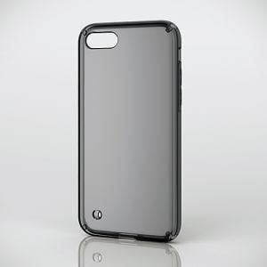 エレコム PM-A17MHVCBK iPhone 8用ハイブリッドケース ブラック
