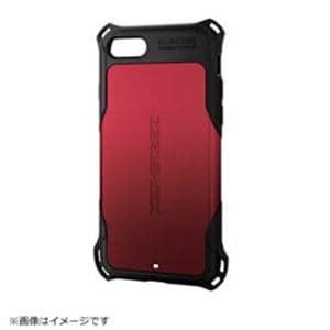 エレコム PM-A17MZERORD iPhone 8 ZEROSHOCK スタンダード レッド