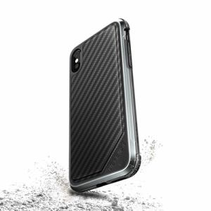 RASTA BANANA(ラスタバナナ) XI8DLUX3 X-doria iPhone X ケース/カバー ハイブリッド DEFENSE LUX Carbon
