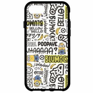 グルマンディーズ MINI-61B iPhone 8用 怪盗グルーシリーズ(ミニオンズ)IIII fit iPhone7s/7/6s/6対応ケース  セリフ