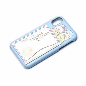PGA(ピージーエー) YY02009 iPhoneX用ハードケーススタンドポケット付き すみっコぐらし/たび