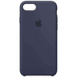 アップル MQGM2FE/A 【純正】 iPhone 8用 シリコーンケース ミッドナイトブルー