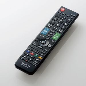 エレコム ERC-TV01BK-HI かんたんTV用リモコン(日立用) ブラック
