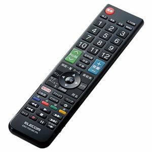 エレコム ERC-TV01BK-PA かんたんTV用リモコン(パナソニック用) ブラック