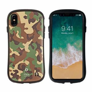 Hamee 41-889503 iPhone X専用 iFace First Class Militaryケース カーキ
