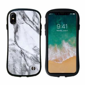 Hamee 41-889701 iPhone X専用 iFace First Class Marbleケース ホワイト