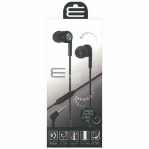 オズマ ESM-SP378BK iPhone/スマートフォン用ステレオイヤホンマイク/3.5φ