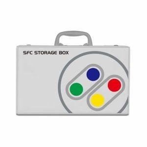 コロンバスサークル CC-CMSFB-GR クラシックミニ スーパーファミコン用 クラシック収納箱