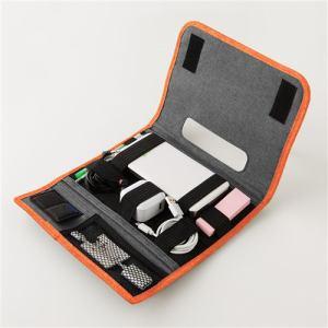 ラディウス RK-HLB01T 自由に収納できるOAポーチ オレンジ