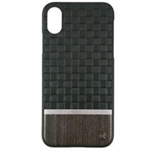 AEGIS iPhone X用 50:50 Ash Embossed Rear Hard Shell グレー UUIP8FSH006
