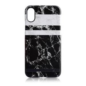 AEGIS iPhone X用 Monochrome Marble Print Design マーブル UUIP8PFHS04