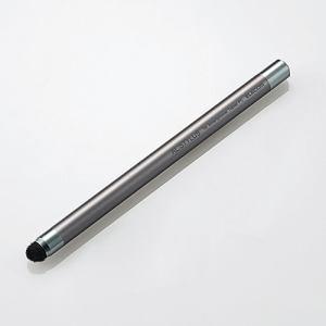 エレコム P-TPA02GY 超感度スマートフォン用タッチペン 「AL.STYLUS」 グレー