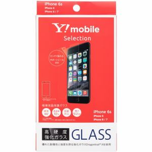 Y!mobile SELECTION Y1-IA02-PFGA 極薄液晶保護ガラス for iPhone 6s
