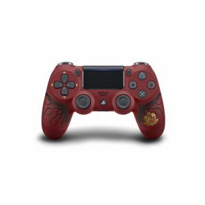 ワイヤレスコントローラー(DUALSHOCK4) MONSTER HUNTER: WORLD LIOLAEUS EDITION CUHJ-15008