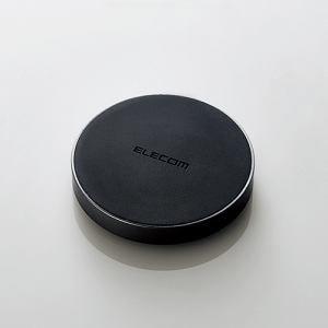 エレコム W-QA02BK Qi規格対応 ワイヤレス充電器(5W) ブラック