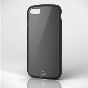 エレコム PM-A17MTSLBK iPhone 8用耐衝撃ケース 「TOUGH SLIM LITE」 ブラック